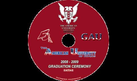 American Üniversitesi CD Baskı İşlemi